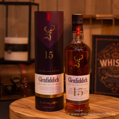 Whisky Glenfiddich 15Y Solera Reserve 70 cl