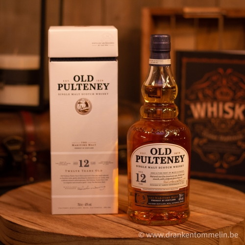 Whisky Old Pulteney 12Y 70 cl
